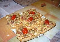 Dřevorubecký toast