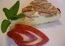 Jablkový tvarožník bez mouky