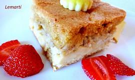Jablkový vláčný koláč