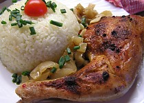 Kuře na celeru