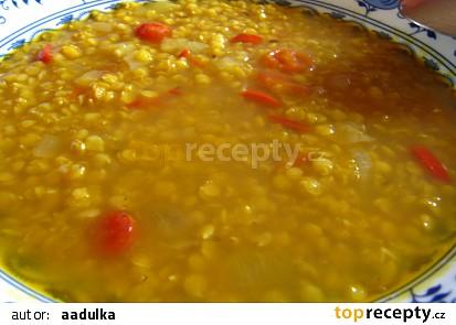 Polévka z červené čočky II.