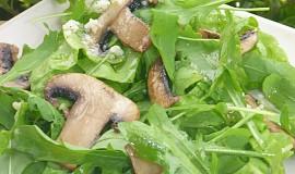 Salát z mangoldu a rukoly
