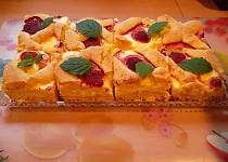 Tvarohový koláč bez tvarohu