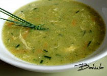 Brokolicová polévka s mrkví