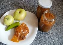 Melounovo-fíkové čatní s jablky