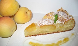 Meruňkový koláč z tvarohového těsta