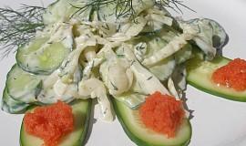 Osvěžující fenyklovo - okurkový salát