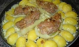 Plněné papriky pečené