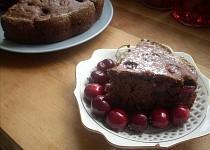 Rychlý koláč s třešněmi