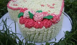 Svatební dortík k výročí