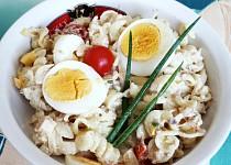 Těstovinový salát s tuňákem podle JItky