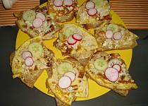 Víkendová snídaně R-o-m-i-k- smaženky s domácím cibulovým chlebem