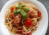 "Voňavé ""čtvrthodinkové"" špagety"