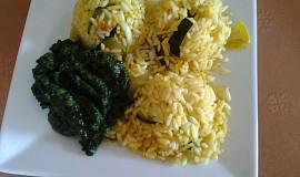 Zeleninové rizoto se špenátem