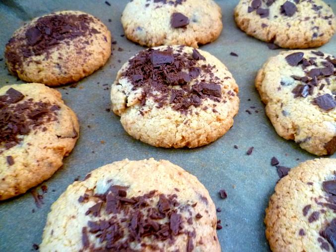 Americké cookies, Třetí, povedený plech :)