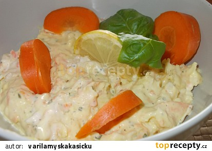 Chutná zeleninová pomazánka narychlo