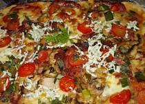 Blesková pizza z jogurtu (kefíru)