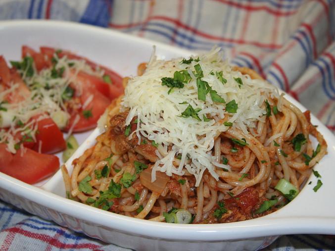Boloňské špagety - zdravá verze