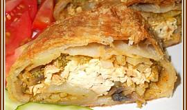 Brokolicový závin s uzeným tofu