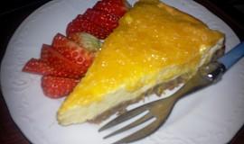 Cheesecake s pomerančovým želé