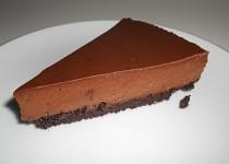 Čoko-mátový cheesecake