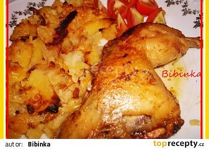 Gyrosové kuře z jednoho pekáče s plesnivými brambory