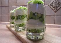 Kiwi pohár s tvarohem