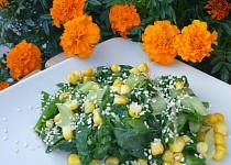 Mangoldovo-kukuřičný salát