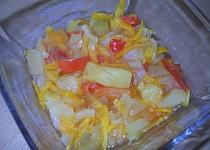 Pikantní čatní z cukety s ananasem
