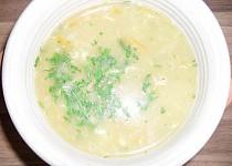 Rychlá polévka z ovesných vloček