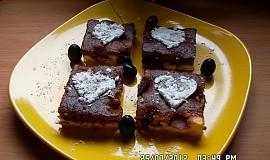Tvarohovo-hroznový koláč