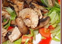 Zdravý zeleninový talíř