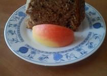 Bábovka s jablečnou vlákninou a čokoládou