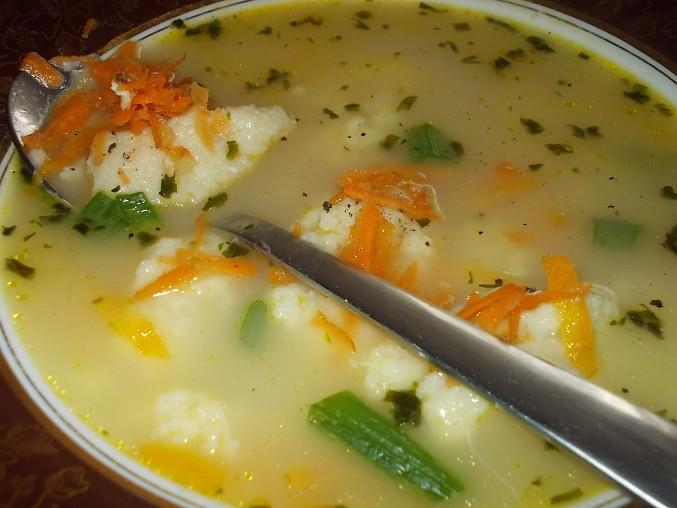 Barevná, zdravá a rychlá polévka
