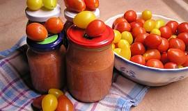 Česnekovo-rajčatová směs bez konzervace