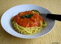 Cuketová omáčka na špagety II
