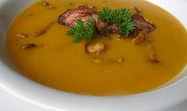 Dýňová polévka s liškami