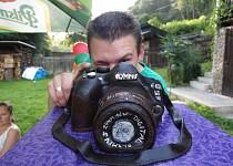 Fotoaparát - dort