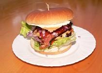 "Hamburger   ""JUICY LUCY"""