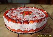 Jahodový dort pro dceru