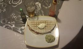 Kuřecí quesadilla.