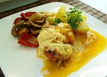 Kuřecí s broskví a sýrem