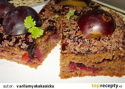 Medovo-perníkové kostky s dýní a švestkami