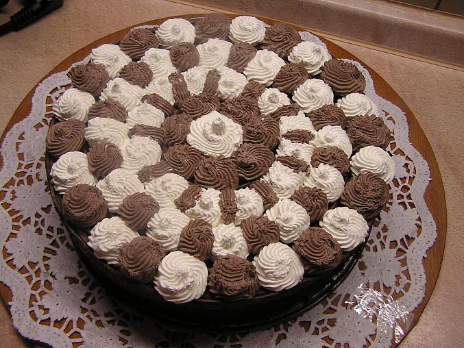 Pařížský dort pro Davču