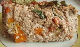 Pohankový nákyp se zeleninou a bazalkou