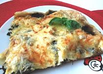 Špenátovo ( mangoldovo ) - šunkový slaný koláč