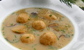 Starodávná polévka z hub