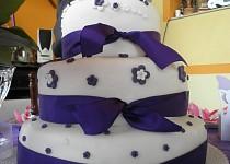 Svatební dort + mini dortíky