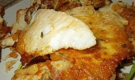 Rybí filety v parmazánovo-bramborovém kabátku