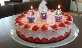 Veselý dortík pro Kristýnku
